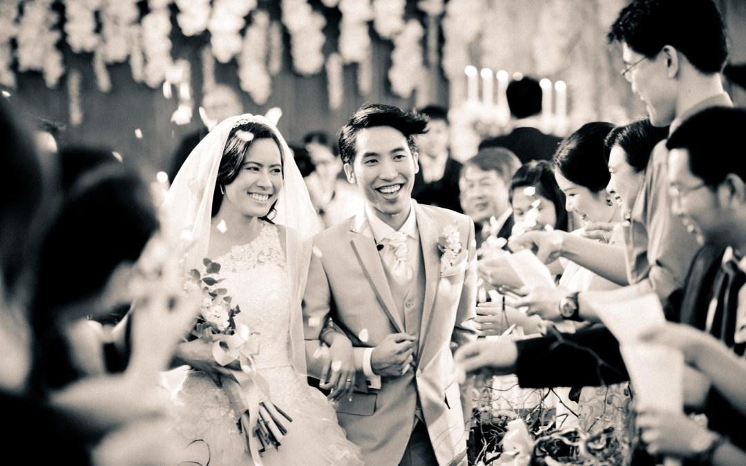 Bangkok Thailand Wedding Photography: Church Wedding