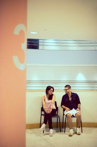 bacc (Bangkok Art and Cultural Centre) pre-wedding (prenuptial, engagement) photography