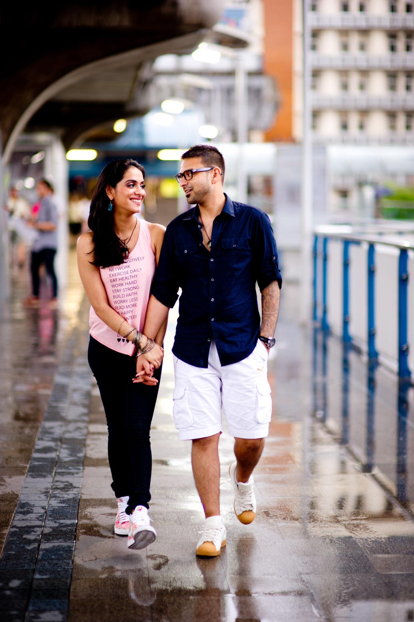 Thailand Wedding Photography: Bangkok Thailand Engagement Session: Jessie + Sav