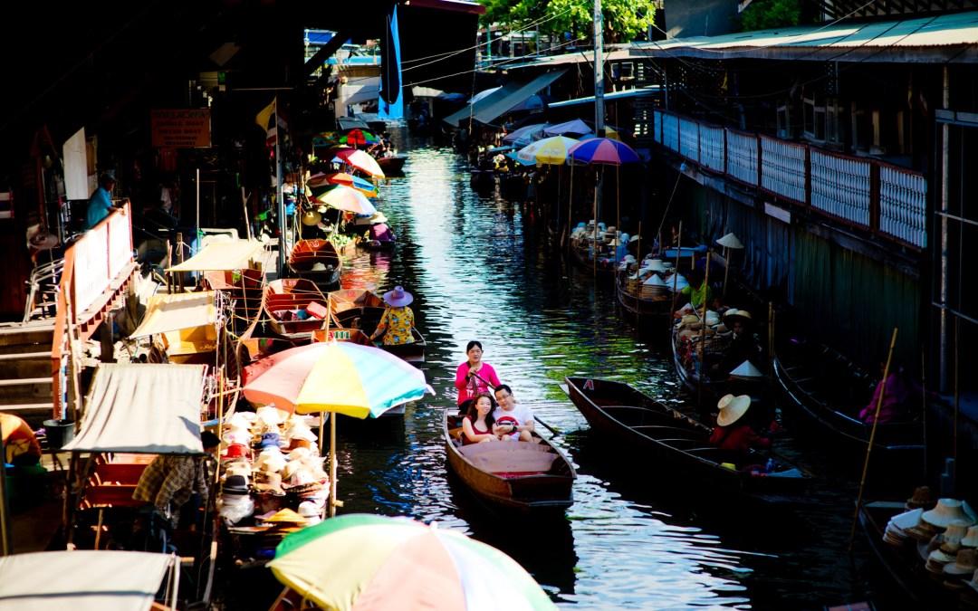 Pre-Wedding at Damnoen Saduak Floating Market and China Town