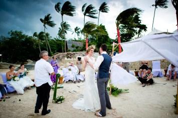 Samui, Thailand - Destination wedding at Beach Republic Koh Samui.