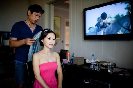 Hua Hin, Thailand - Hyo Lim Lee & Timothy Kim's Wedding at Intercontinental Hua Hin Resort in Thailand.