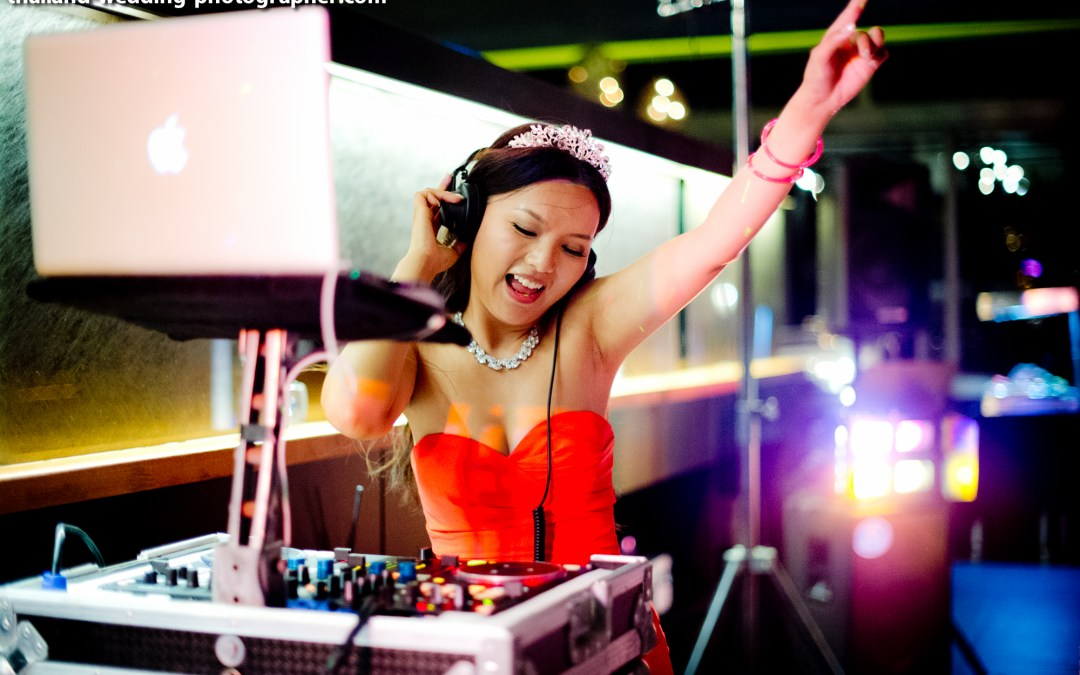 Photo of the Day: DJ Bride