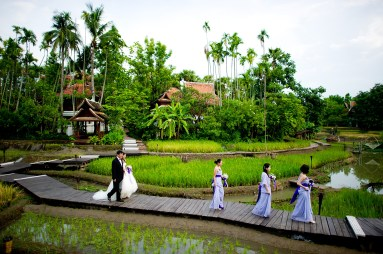 Chiang Mai, Thailand - The Dhara Dhevi Wedding