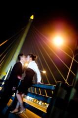 Engagement session of Maidoua and G Rama VIII Bridge Bangkok Thailand