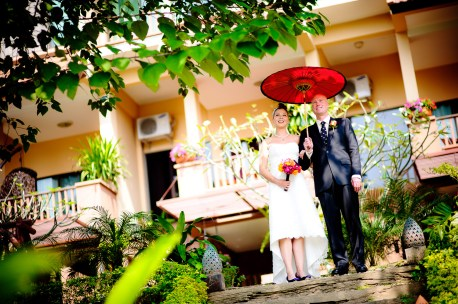 Villa San Pee Seua - Chiang Mai Wedding - Chiang Mai Thailand Wedding Photography