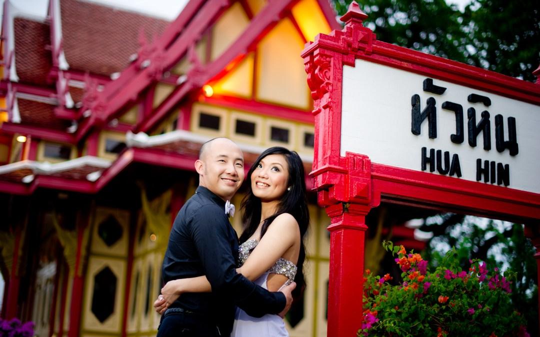 Hua Hin Thailand Pre-Wedding (Engagement Session): Yaiya Resort – Railway Station – Night Market
