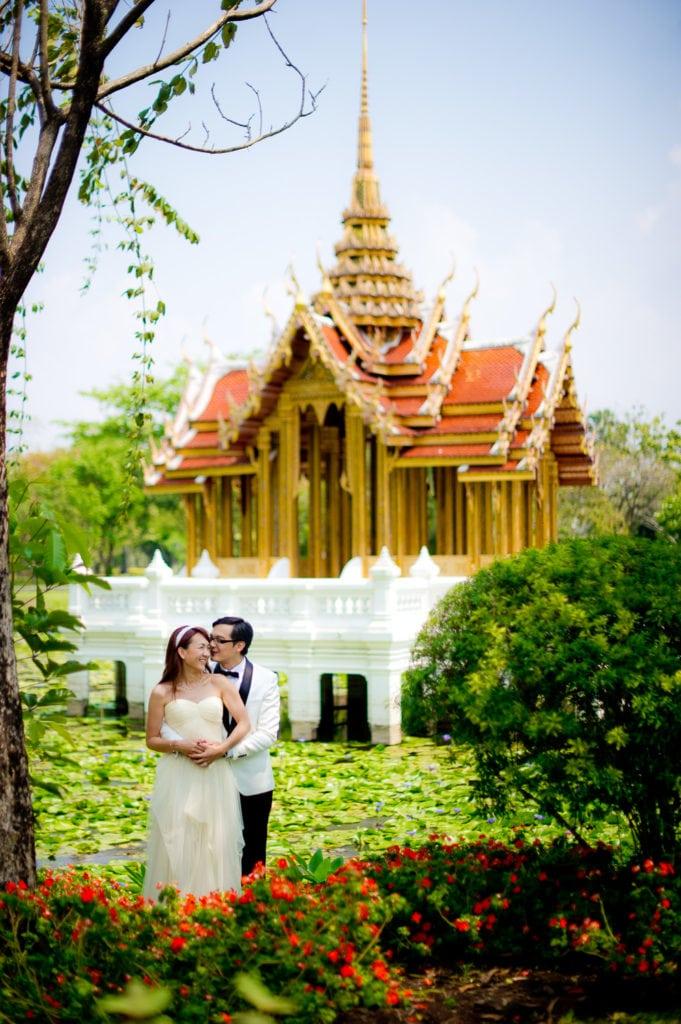 Rama IX Park Pre Wedding - Thailand Bangkok Photographer