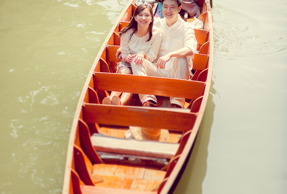 Preview: Pre-Wedding at Damnoen Saduak Floating Market Thailand