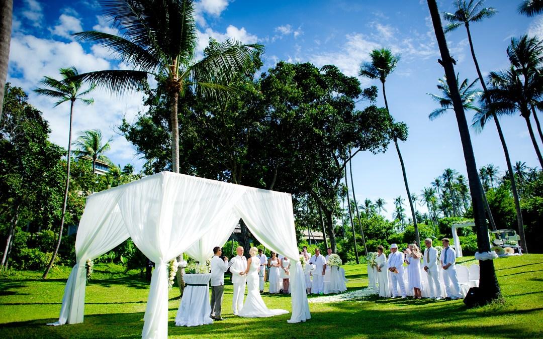 Photo of the Day: Banyan Tree Samui Wedding