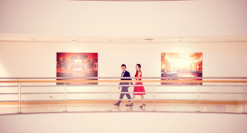 Cherlyn and Ben's Bangkok Art & Culture Centre pre-wedding (prenuptial, engagement session) in Bangkok, Thailand. Bangkok Art & Culture Centre_Bangkok_wedding_photographer__1290.TIF