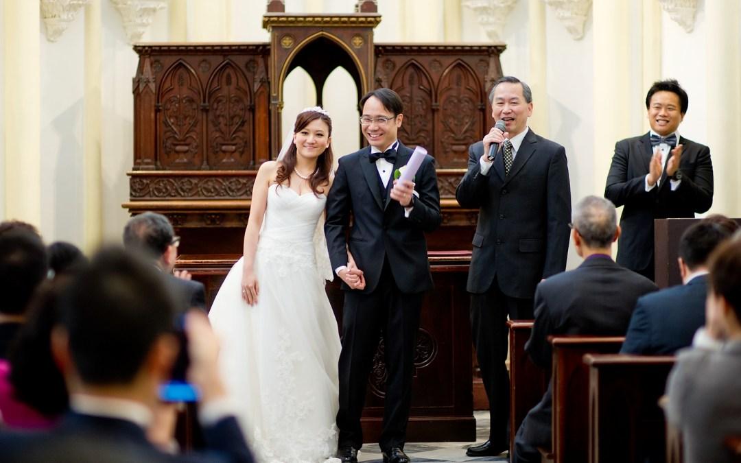 Bethanie Chapel (Emmanuel Church) Wedding Hong Kong