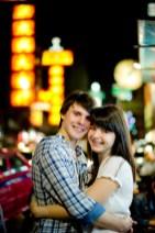 Tatiana and Alex's China Town pre-wedding (prenuptial, engagement session) in Bangkok, Thailand. China Town_Bangkok_wedding_photographer__1373.TIF