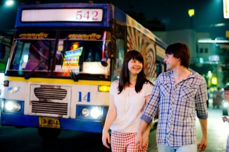 Tatiana and Alex's China Town pre-wedding (prenuptial, engagement session) in Bangkok, Thailand. China Town_Bangkok_wedding_photographer__1375.TIF