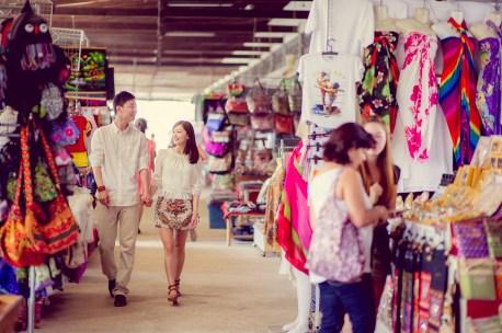 Yuchen and Wenquan's Damnoen Saduak Floating Market pre-wedding (prenuptial, engagement session) in Ratchaburi , Thailand. Damnoen Saduak Floating Market_Ratchaburi _wedding_photographer_Yuchen and Wenquan_0351.TIF