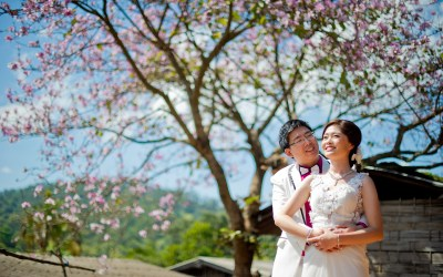Karen and Billy's Pre-Wedding in Chiang Mai Thailand