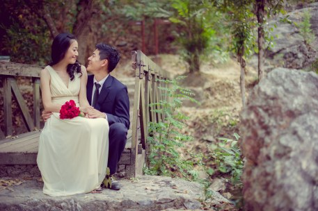 Ya-Win and Ray's Huay Keaw Waterfall pre-wedding (prenuptial, engagement session) in Chiang Mai, Thailand. Huay Keaw Waterfall_Chiang Mai_wedding_photographer_Ya-Win and Ray_0286.TIF