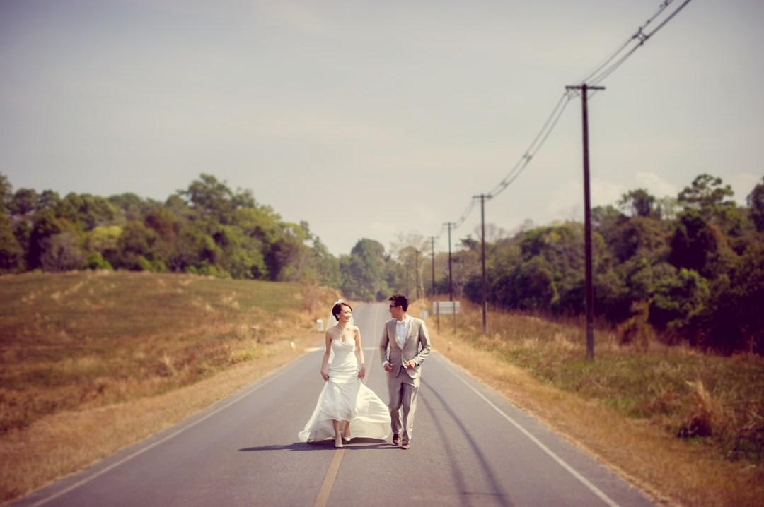 Si'En and Lai's Pre-Wedding in Khao Yai & Bangkok
