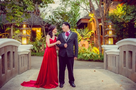 Karen and Billy's Khum Phaya Resort and Spa Centara Boutique Collection pre-wedding (prenuptial, engagement session) in Chiang Mai, Thailand. Khum Phaya Resort and Spa Centara Boutique Collection_Chiang Mai_wedding_photographer_Karen and Billy_2235.TIF