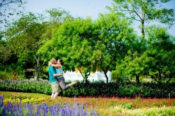 Kathryn and Joseph's King Rama IX Park pre-wedding (prenuptial, engagement session) in Bangkok, Thailand. King Rama IX Park_Bangkok_wedding_photographer__1669.JPG
