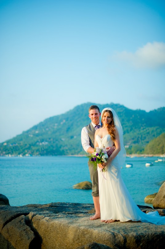 Jill and Matthew's Koh Tao Beach wedding in Koh Tao, Thailand. Koh Tao Beach_Koh Tao_wedding_photographer_Jill and Matthew_0055.TIF