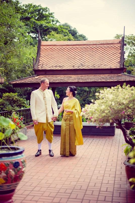 M.R. Kukrit's House Wedding | Bangkok Wedding Photography