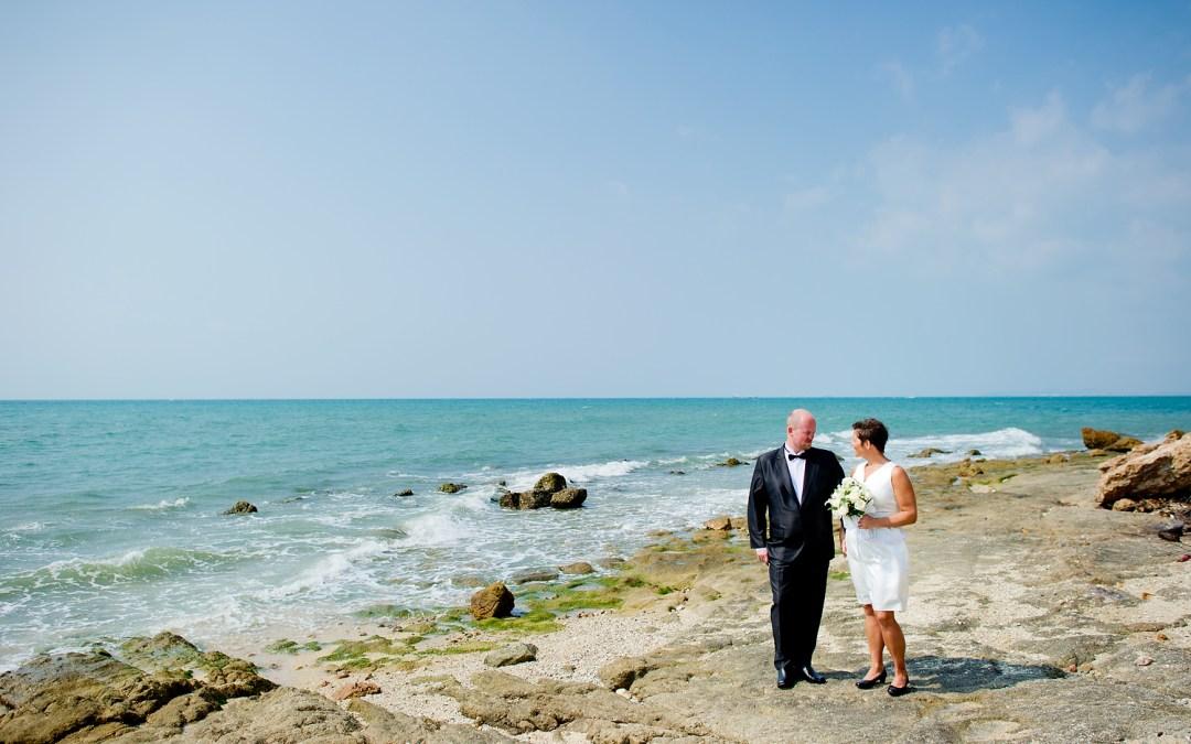 Linda and Tor's Wedding at Norwegian Seaman's Church Pattaya