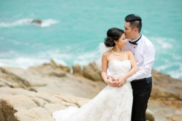 Ada and Chris's Samui Viewpoint pre-wedding (prenuptial, engagement session) in Koh Samui, Thailand. Samui Viewpoint_Koh Samui_wedding_photographer_Ada and Chris_1836.TIF
