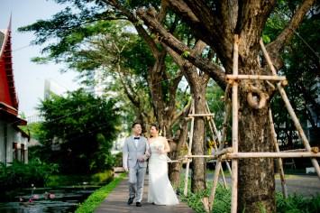 Sudrutai and Jason's The Sukhothai Bangkok wedding in Bangkok, Thailand. The Sukhothai Bangkok_Bangkok_wedding_photographer_Sudrutai and Jason_2092.TIF