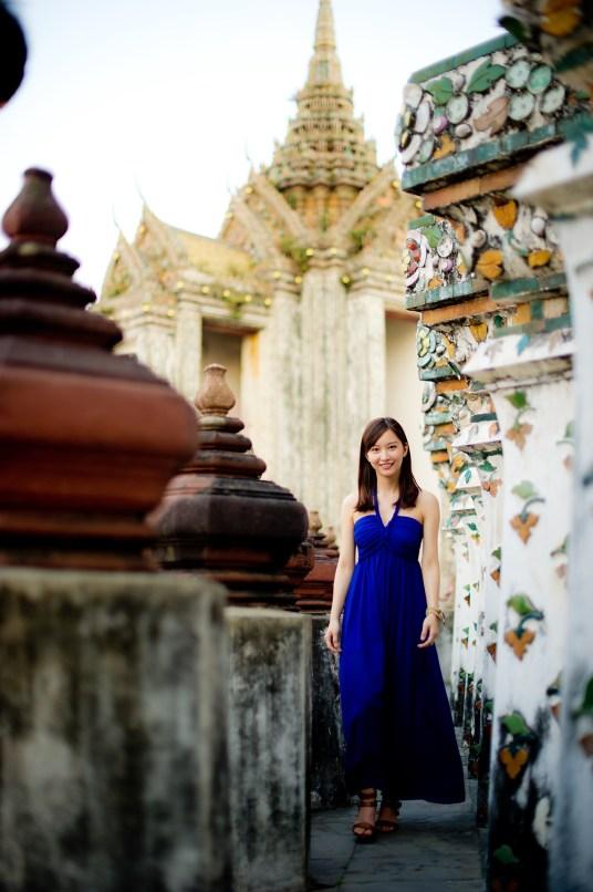 Yuchen and Wenquan's Wat Arun pre-wedding (prenuptial, engagement session) in Bangkok , Thailand. Wat Arun_Bangkok _wedding_photographer_Yuchen and Wenquan_0362.TIF