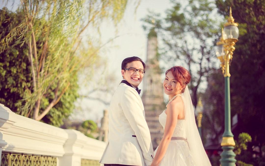 Loh and Jason's Pre-Wedding in Bangkok Thailand
