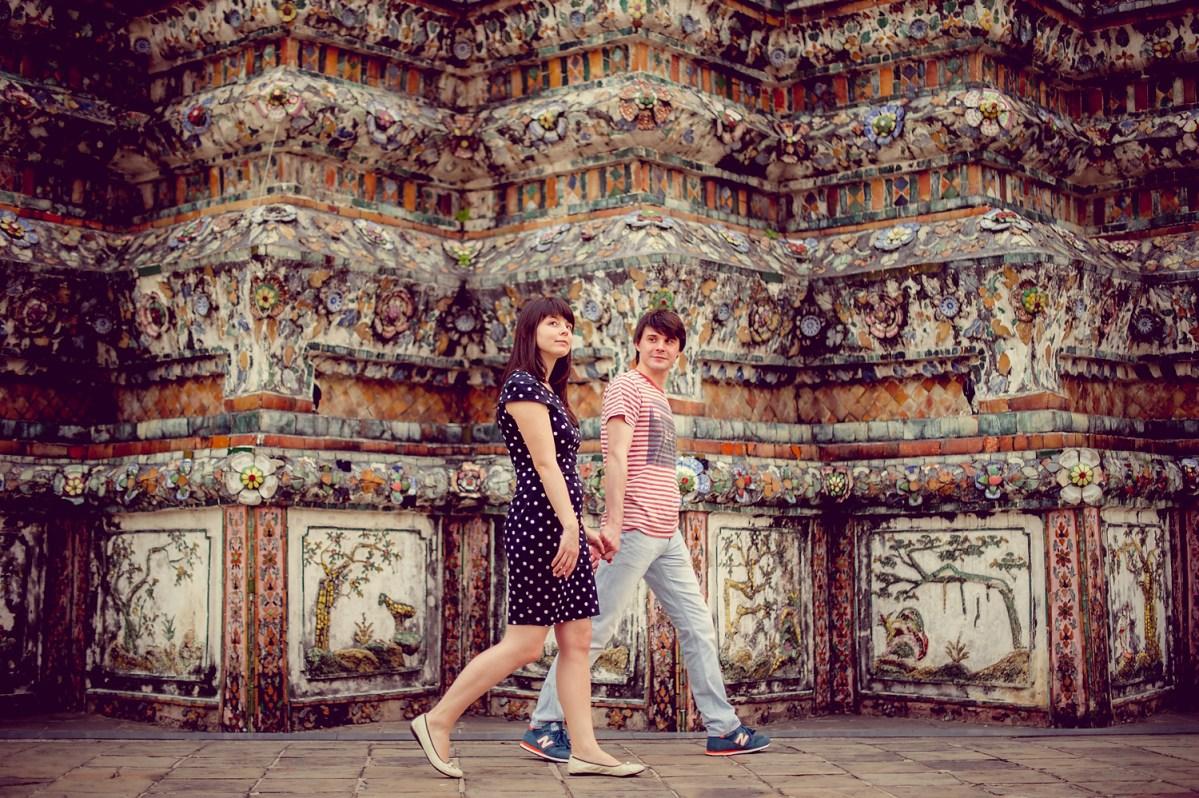 Tatiana and Alex's Pre-Wedding in Bangkok