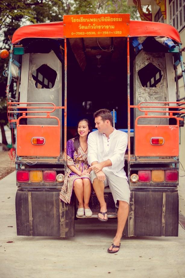 Tarinee and Dyson's Wat Kaew Korawaram pre-wedding (prenuptial, engagement session) in Krabi, Thailand. Wat Kaew Korawaram_Krabi_wedding_photographer_Tarinee and Dyson_1854.TIF
