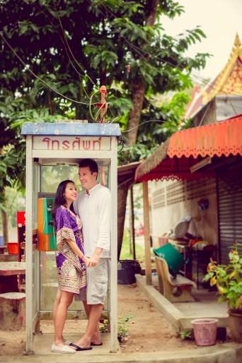Tarinee and Dyson's Wat Kaew Korawaram pre-wedding (prenuptial, engagement session) in Krabi, Thailand. Wat Kaew Korawaram_Krabi_wedding_photographer_Tarinee and Dyson_1858.TIF
