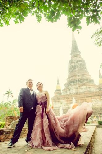 Wat Yai Chai Mongkhon Pre-Wedding - 0337