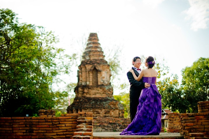 Karen and Billy's Wiang Kum Kam pre-wedding (prenuptial, engagement session) in Chiang Mai, Thailand. Wiang Kum Kam_Chiang Mai_wedding_photographer_Karen and Billy_2225.TIF