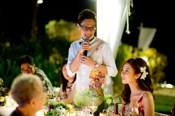 Hua Hin, Thailand - Destination wedding at Aleenta Hua Hin Resort & Spa in Thailand.