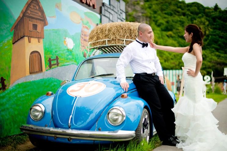 Hua Hin, Thailand - (Engagement Session) Pre-Wedding photo taken at Swiss Sheep Farm in Hua Hin, Thailand.