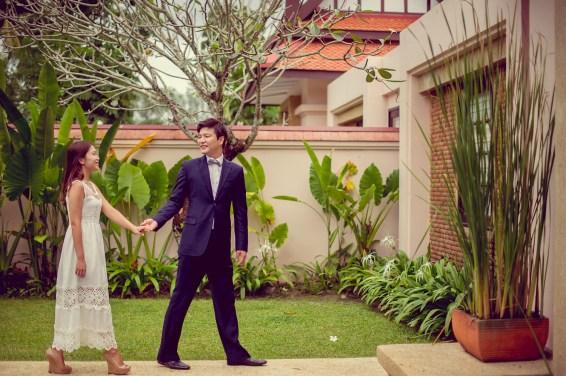 Rachel and Michael's Banyan Tree Phuket pre-wedding (prenuptial, engagement session) in Phuket, Thailand. Banyan Tree Phuket_Phuket_wedding_photographer_Rachel and Michael_31.TIF