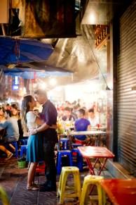 Astrid and Daniel's China Town pre-wedding (prenuptial, engagement session) in Bangkok, Thailand. China Town_Bangkok_wedding_photographer_Astrid and Daniel_14.TIF