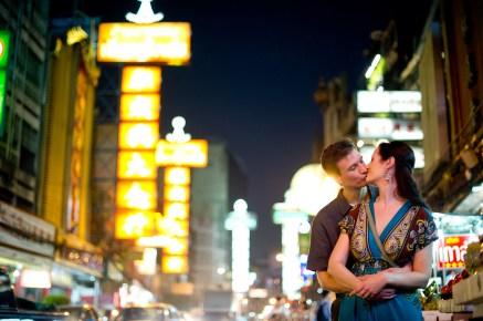 Kristine and Kent's China Town pre-wedding (prenuptial, engagement session) in Bangkok, Thailand. China Town_Bangkok_wedding_photographer_Kristine and Kent_256.TIF
