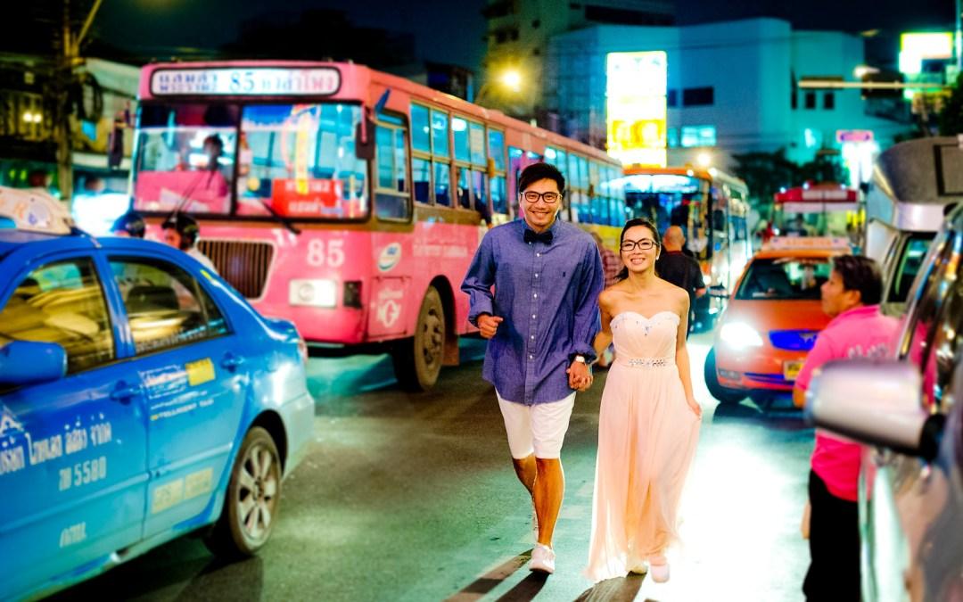 Bangkok Pre-Wedding: Moon and Chau from Hong Kong