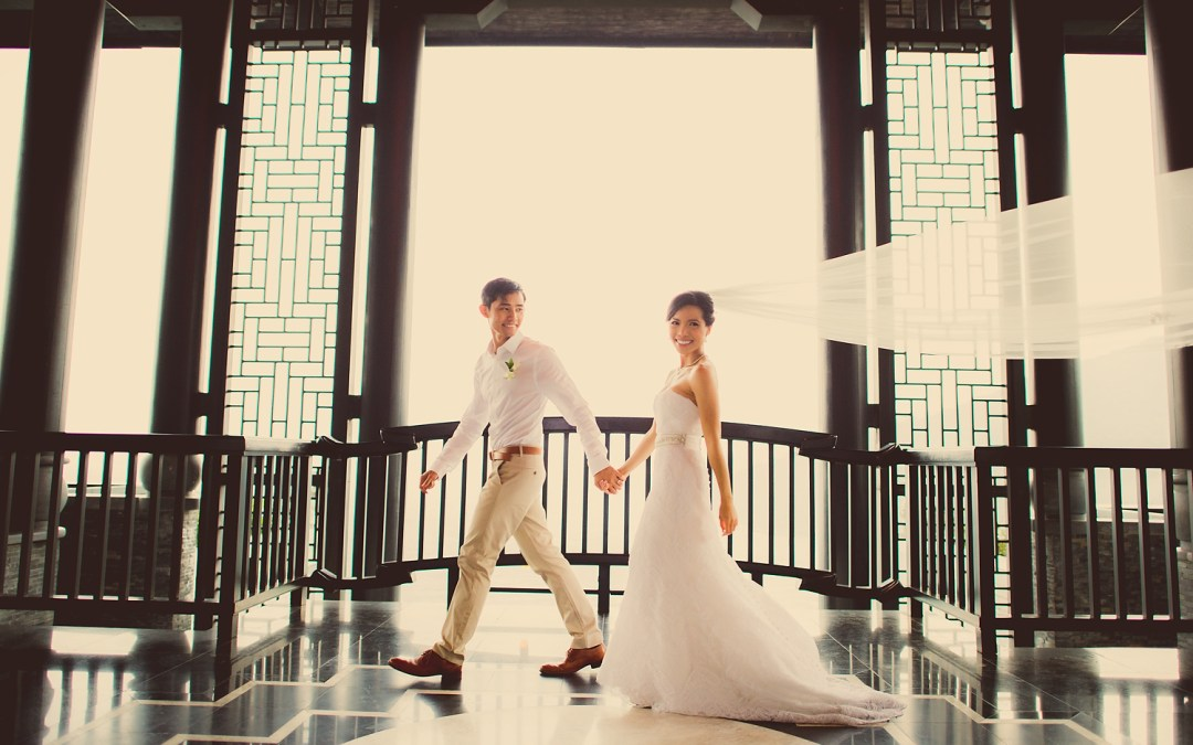 InterContinental Danang Sun Peninsula Resort Wedding: Berry and Tan
