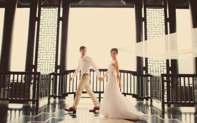 InterContinental Danang Sun Peninsula Resort Wedding: Berry and Tan