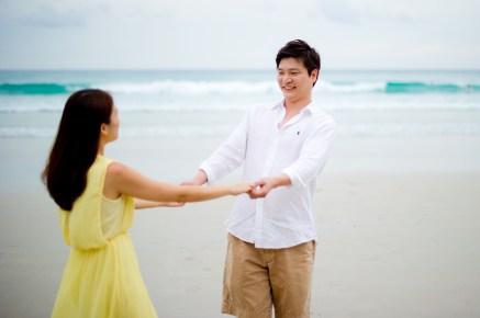 Rachel and Michael's Kata Beach pre-wedding (prenuptial, engagement session) in Phuket, Thailand. Kata Beach_Phuket_wedding_photographer_Rachel and Michael_61.TIF