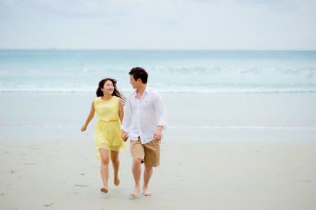 Rachel and Michael's Kata Beach pre-wedding (prenuptial, engagement session) in Phuket, Thailand. Kata Beach_Phuket_wedding_photographer_Rachel and Michael_64.TIF