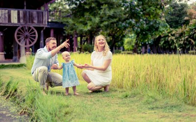 Preview: Family Session at Siripanna Villa Resort & Spa Chiang Mai Thailand
