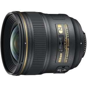 Nikon AF-S FX NIKKOR 24mm f/1.4G ED Fixed Zoom Lens with Auto Focus for Nikon DSLR Cameras
