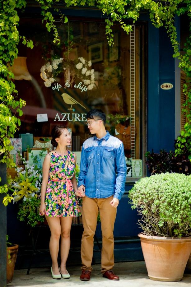 Jill and Daniel's Palio KhaoYai pre-wedding (prenuptial, engagement session) in Nakhon Ratchasima, Thailand. Palio KhaoYai_Nakhon Ratchasima_wedding_photographer_Jill and Daniel_31.TIF