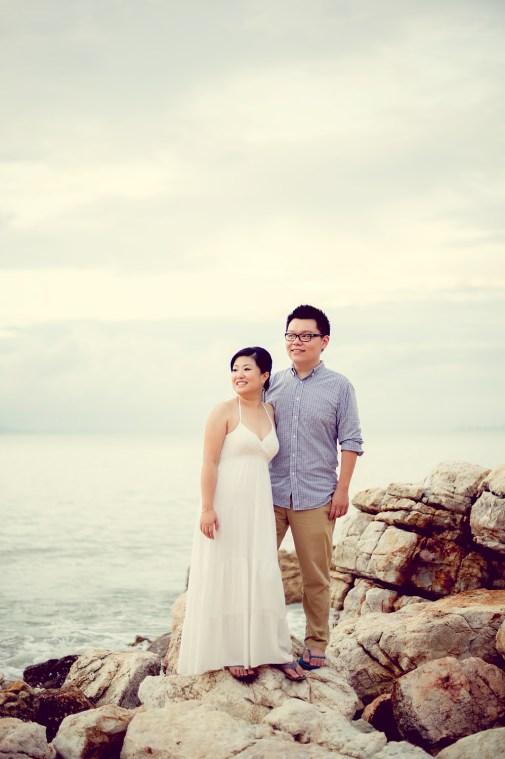 Deborah and Hunter's Pattaya Beach pre-wedding (prenuptial, engagement session) in Pattaya, Thailand. Pattaya Beach_Pattaya_wedding_photographer_Deborah and Hunter_08.TIF
